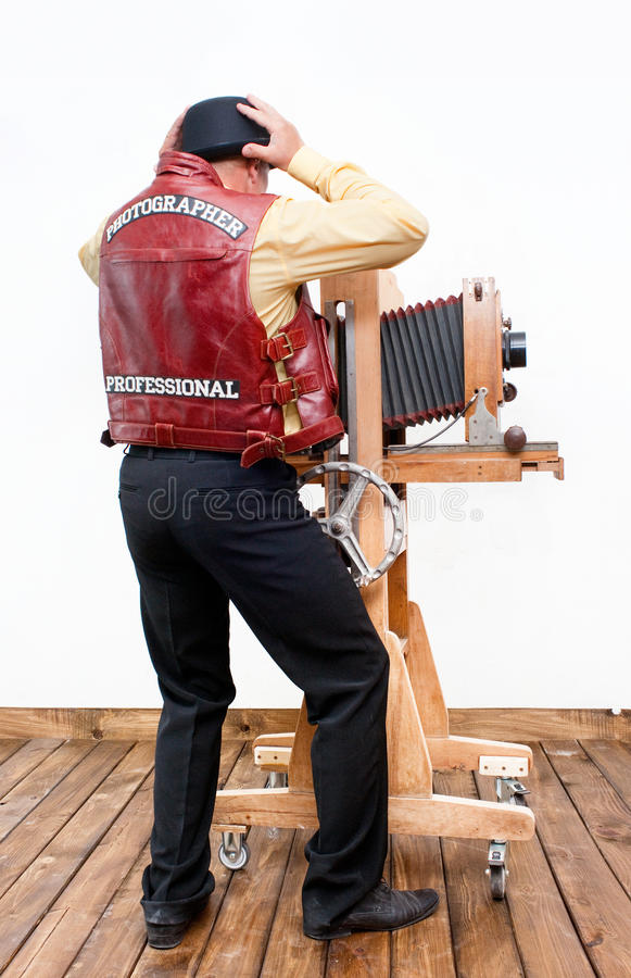 Download Frustrated photographer stock image. Image of professional - 32195493