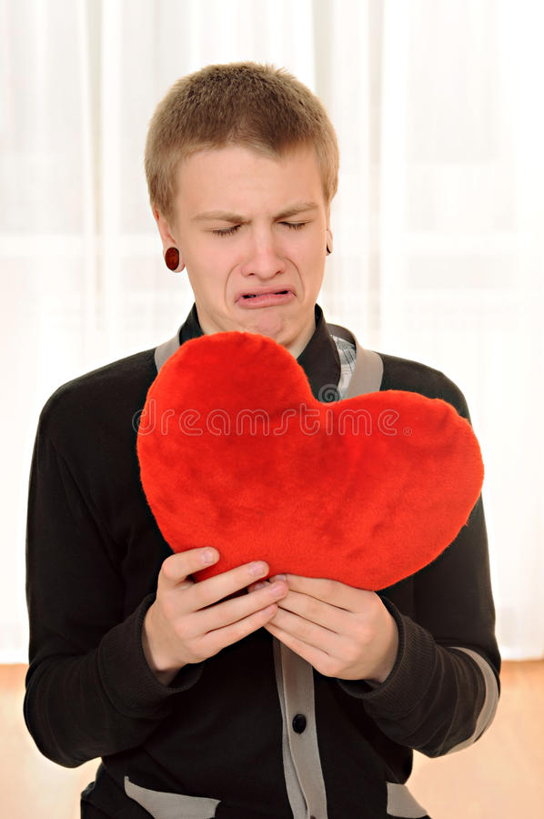 Download Frustrated teenager stock photo. Image of heart, anxious - 22489136
