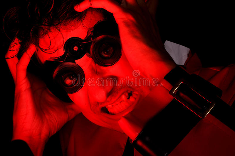 Frustrated Visionary royalty free stock images