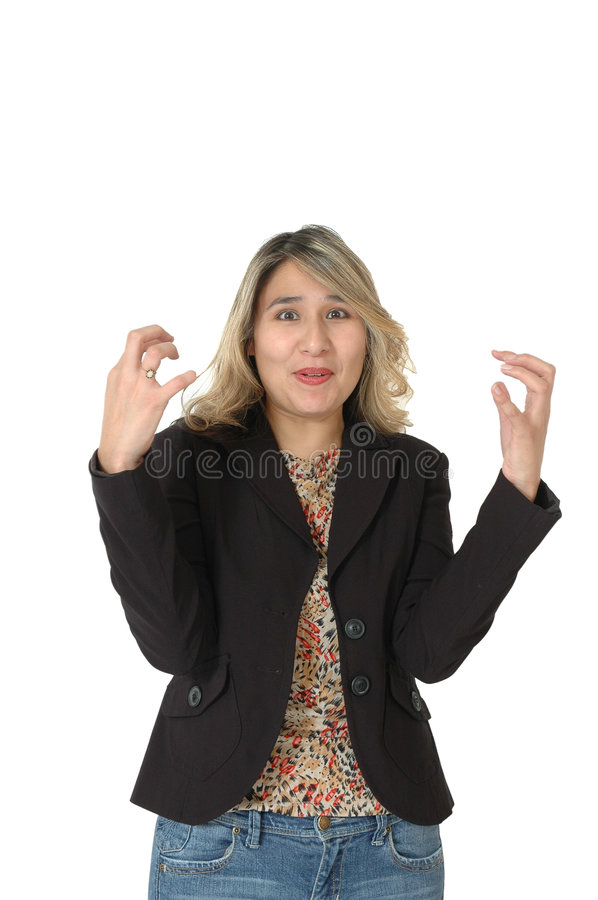 Frustrated Woman royalty free stock image
