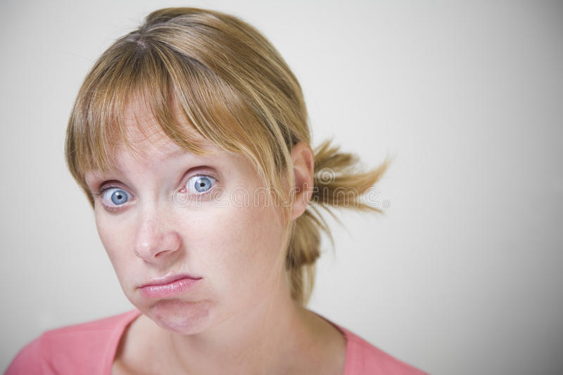 Download Frustrated Woman stock image. Image of bored, frustrated - 17705103