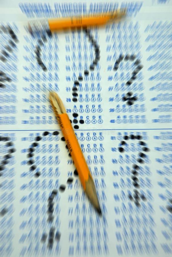 Frustratie! stock foto
