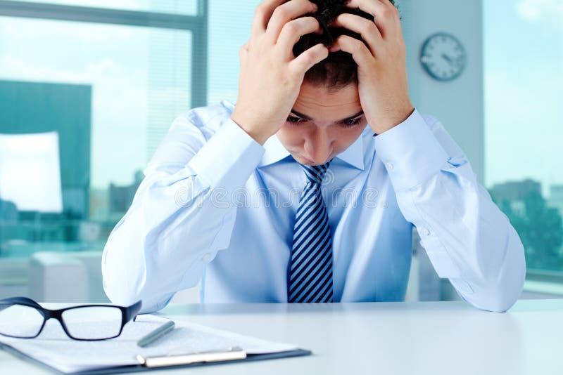 Frustration stockbilder