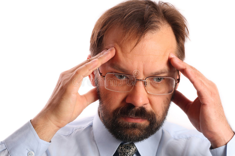 Frustration royalty free stock images
