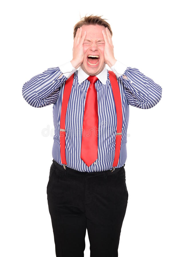 Frustration Stock Photography
