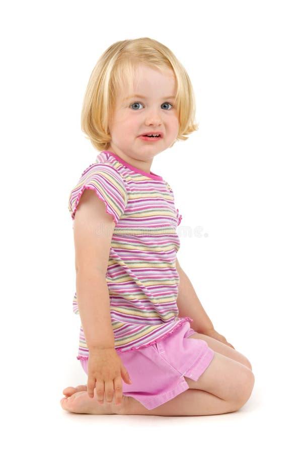 frustrerat barn fotografering för bildbyråer