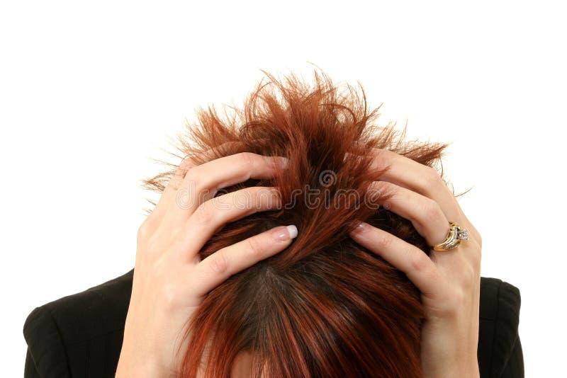 Frustrierte Frauen stockbild