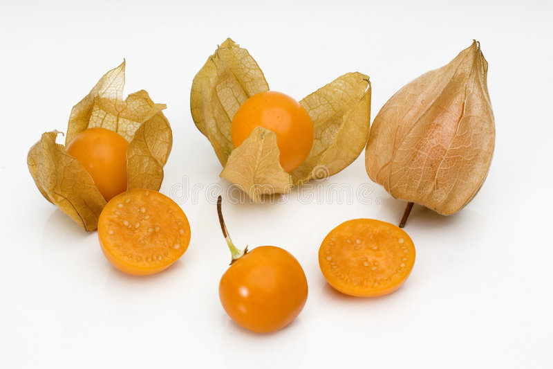 Fruta 2 do Physalis imagem de stock