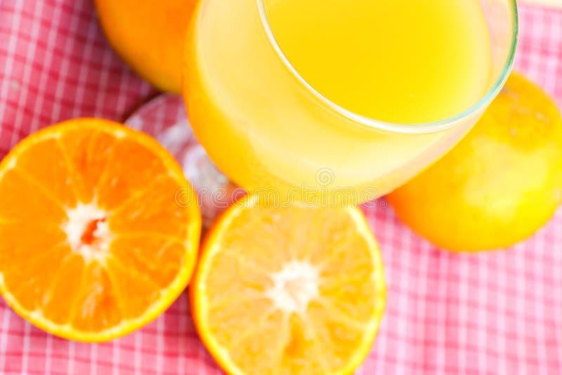 Fruta anaranjada orgánica imágenes de archivo libres de regalías