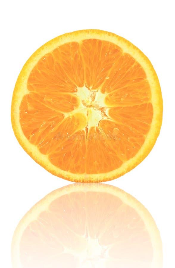 Fruta anaranjada rebanada imagen de archivo libre de regalías