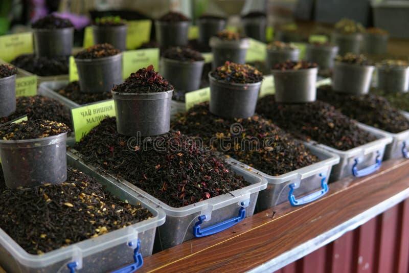 Fruta asiática z de la especia del mercado de los dulces orientales imagen de archivo