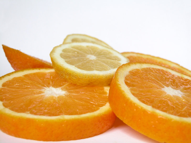 Fruta Cítrica Imagen de archivo libre de regalías