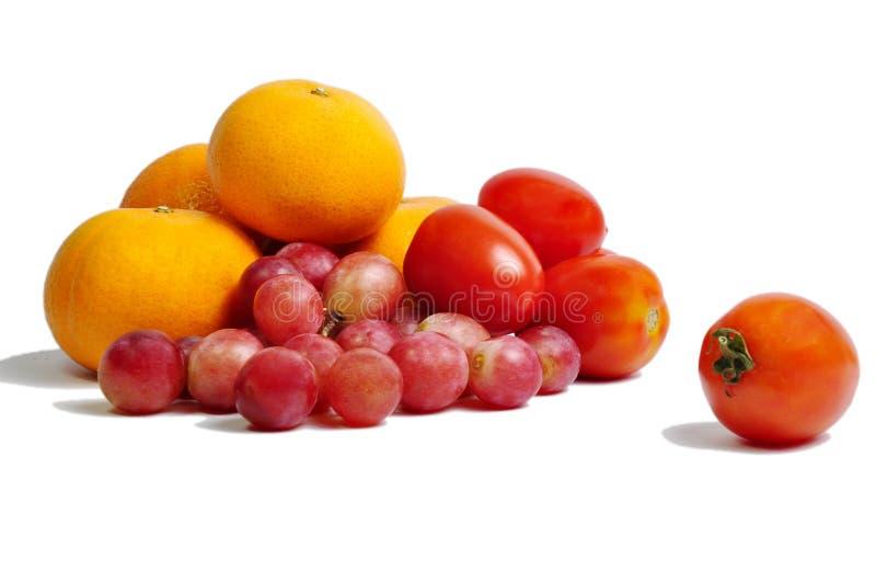 Fruta con vitamina C imagen de archivo