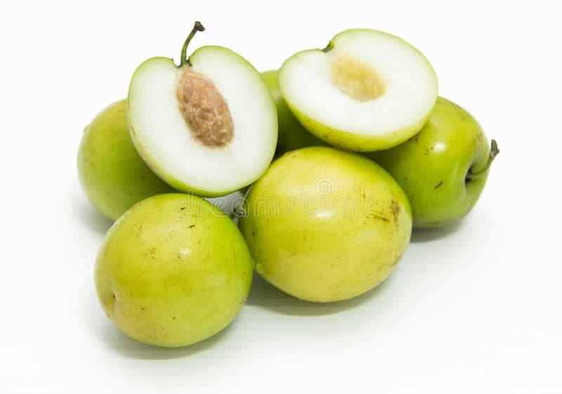 Fruta da maçã do macaco fotografia de stock