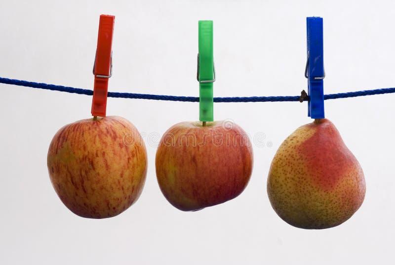 Fruta de Aplle imágenes de archivo libres de regalías
