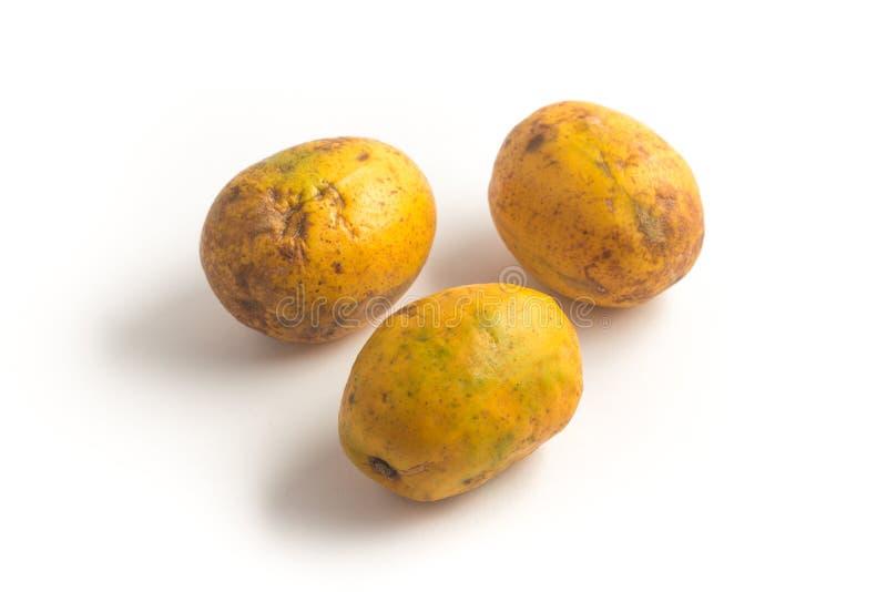 Fruta de Caja-Manga Dulcis del Spondias imagen de archivo
