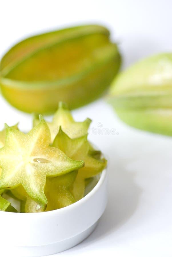 Fruta de estrella del Carambola foto de archivo