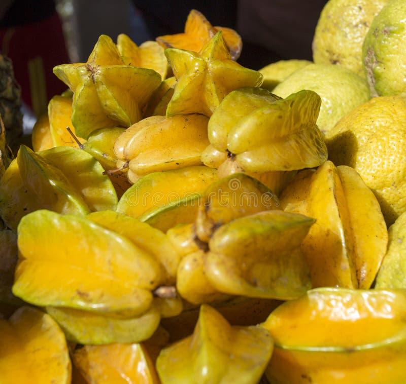 Fruta de estrella deliciosa imagen de archivo