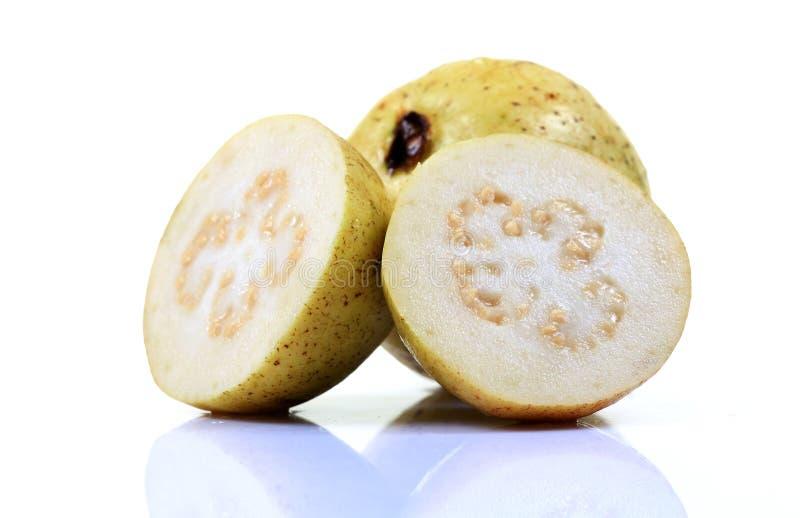 Fruta de guayaba blanca imagen de archivo