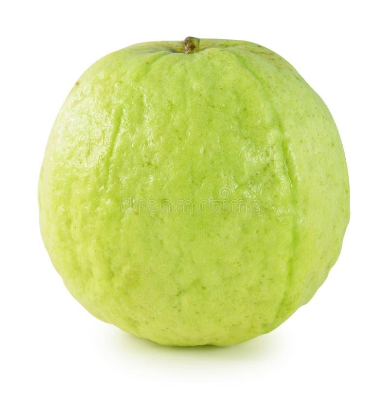Fruta de guayaba en fondo blanco aislado foto de archivo libre de regalías