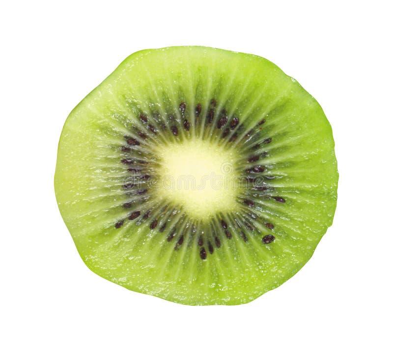 Fruta de kiwi aislada en blanco imagenes de archivo