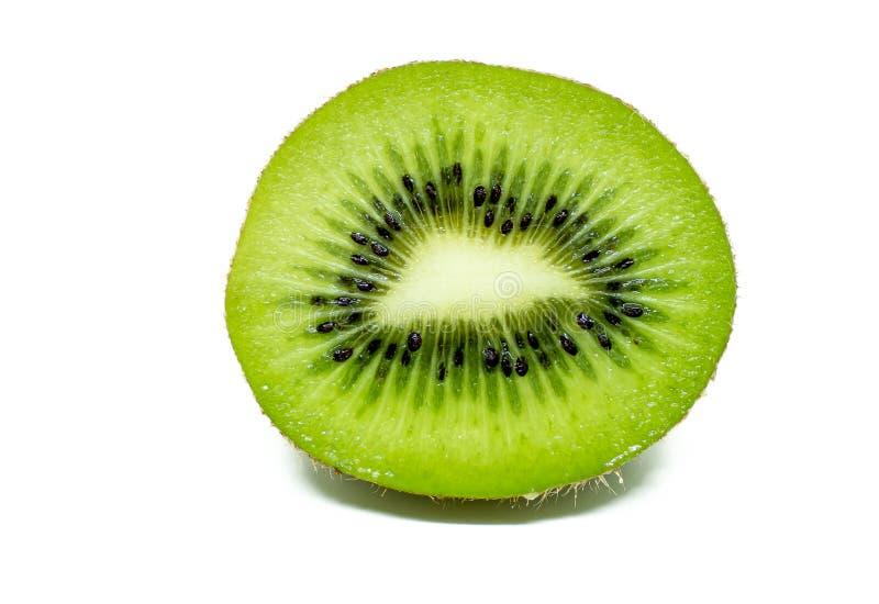 Fruta de kiwi aislada en el fondo blanco fotos de archivo