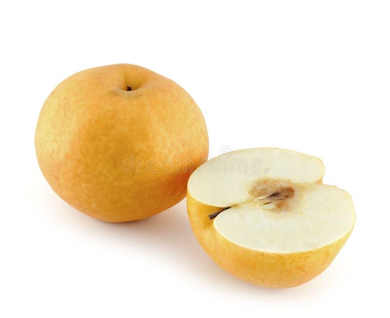 fruta de la Asiático-pera foto de archivo libre de regalías