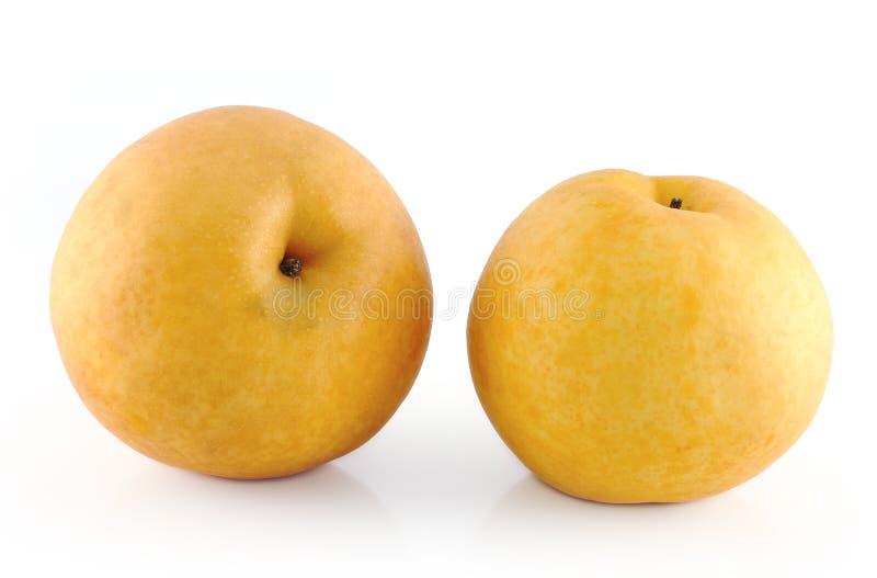 fruta de la Asiático-pera fotos de archivo