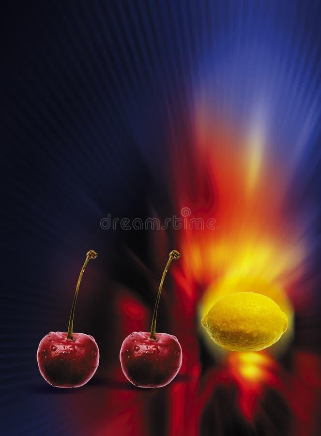 Fruta de la máquina tragaperras fotos de archivo