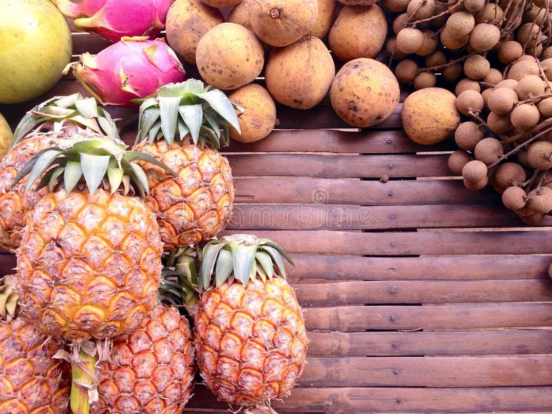 Fruta de la mezcla fotos de archivo libres de regalías
