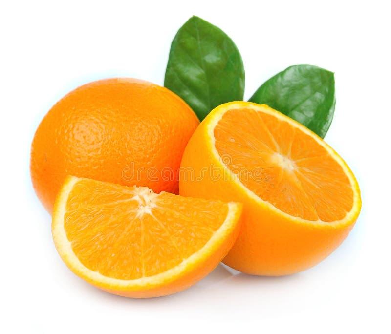 Fruta de la naranja dulce fotografía de archivo libre de regalías