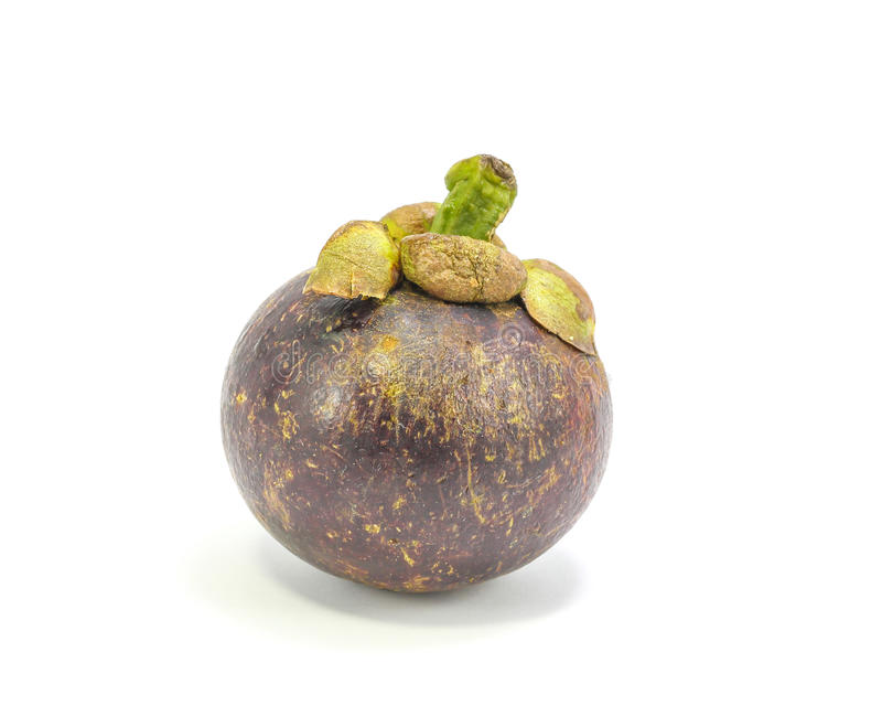 Fruta de la púrpura de Mangostieen fotos de archivo libres de regalías