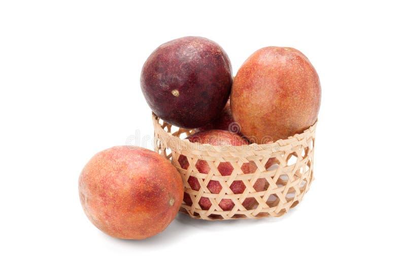 Fruta de la pasión foto de archivo