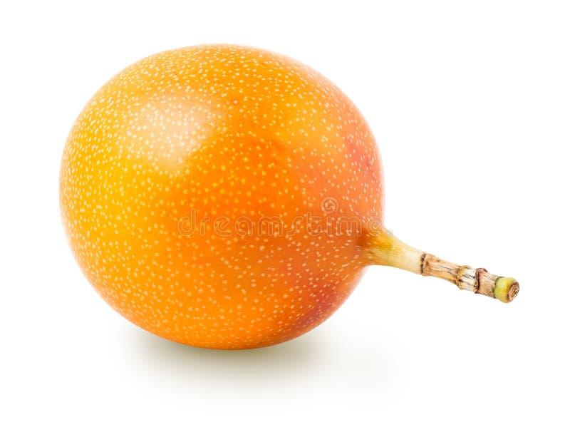 Fruta de la pasión de la granadilla o del grenadia aislada fotos de archivo