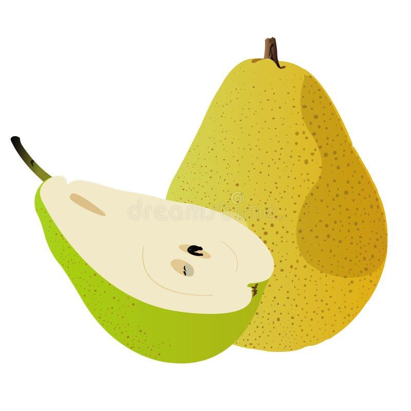 Fruta de la pera fotografía de archivo libre de regalías