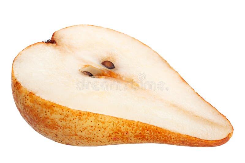 Fruta de la pera de Brown imagenes de archivo