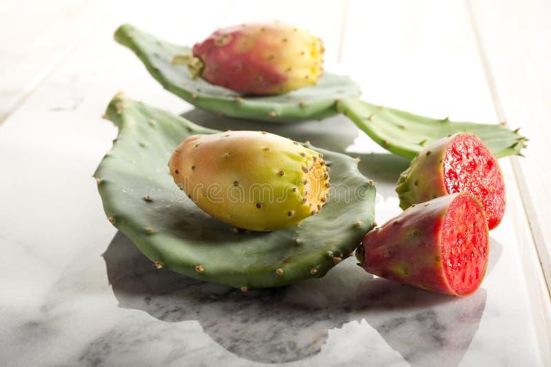 Fruta de la pera espinosa imágenes de archivo libres de regalías