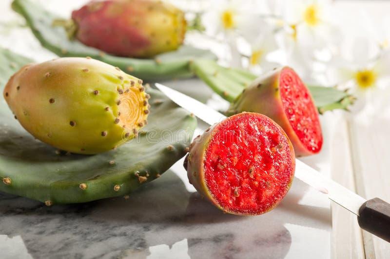 Fruta de la pera espinosa imagen de archivo libre de regalías