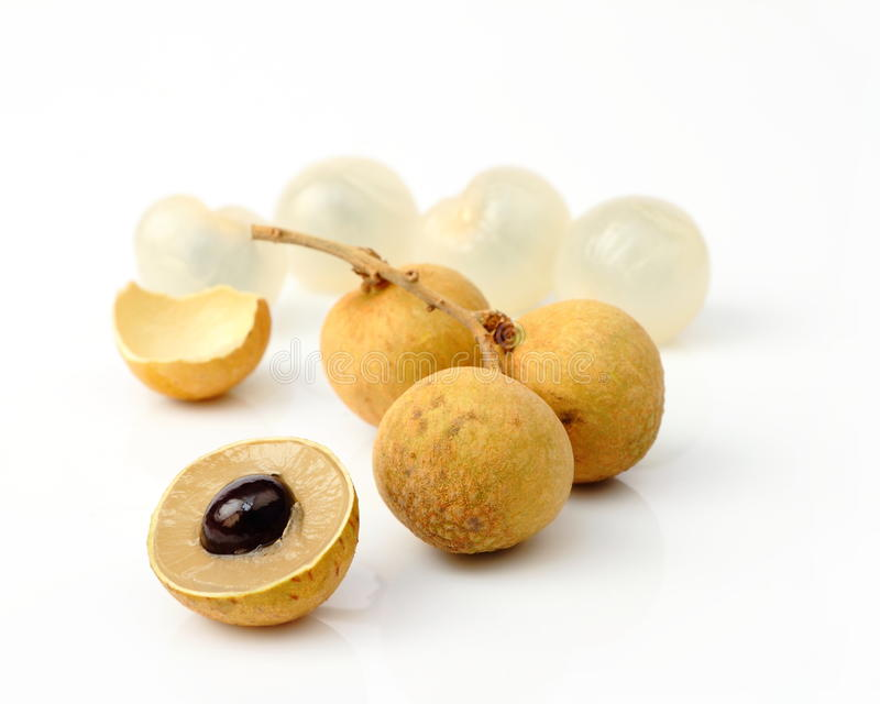 Fruta de Longan imagem de stock royalty free
