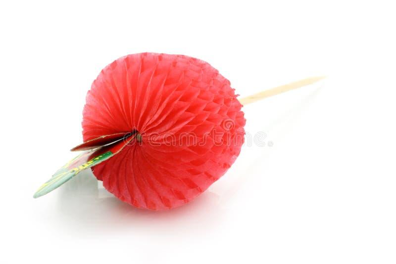 Fruta de papel del coctel foto de archivo libre de regalías