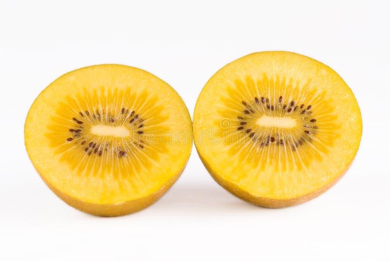 Fruta de quivi dourada imagens de stock royalty free