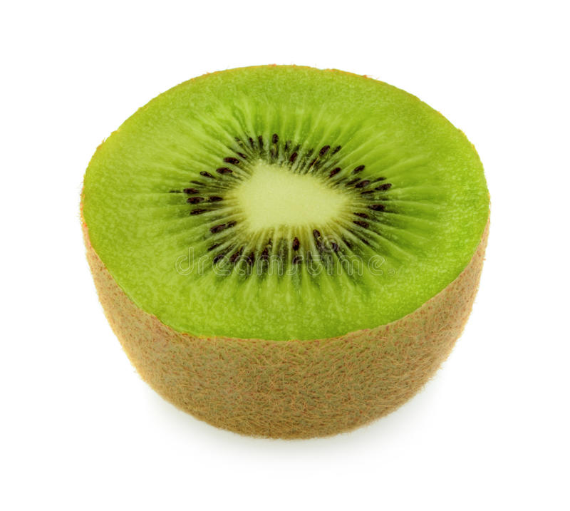 Fruta de quivi isolada imagem de stock royalty free