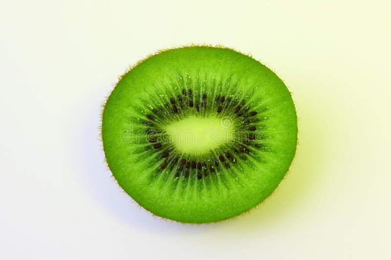 Fruta de quivi verde imagem de stock royalty free