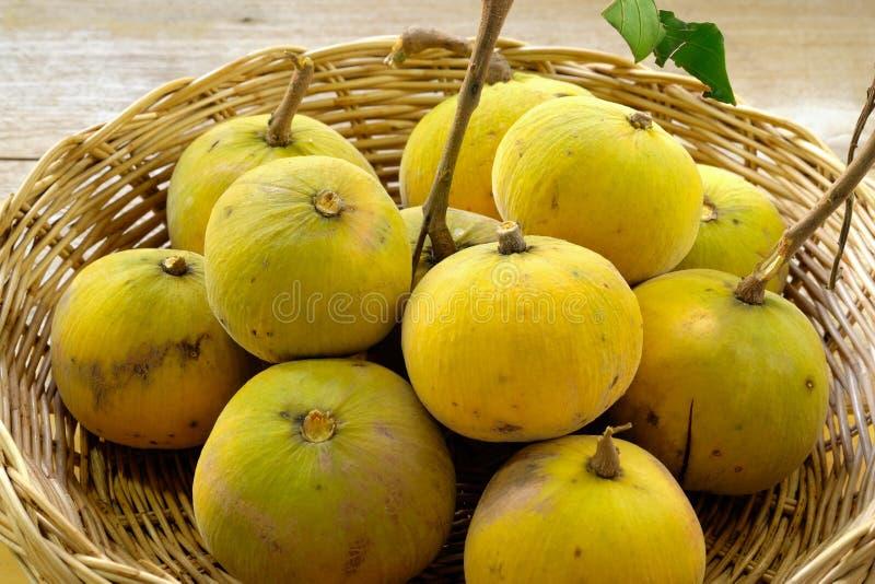 Fruta de Sentul fotografía de archivo