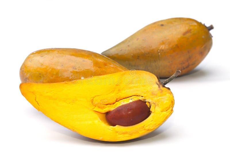 Fruta de Tiesa aislada imágenes de archivo libres de regalías
