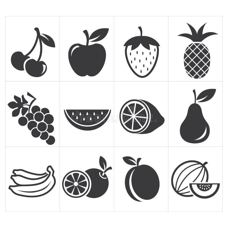 Fruta del icono del icono