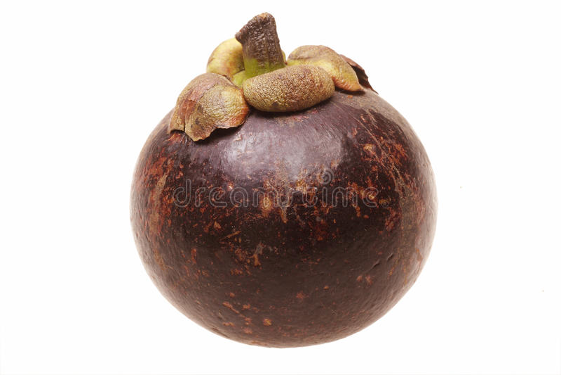 Fruta del mangostán fotos de archivo