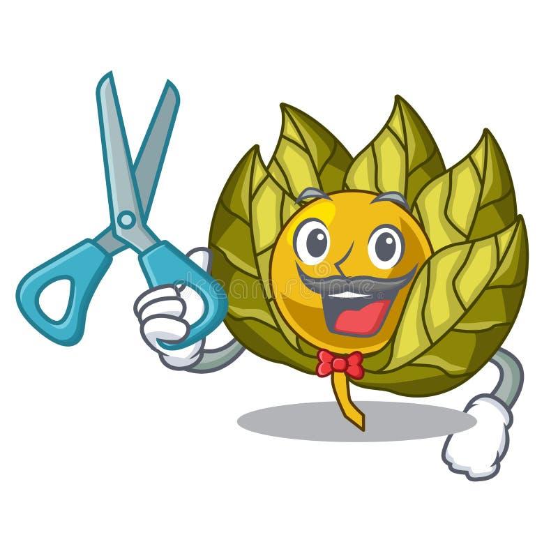 Fruta del physalis del peluquero en un cuenco de la historieta libre illustration