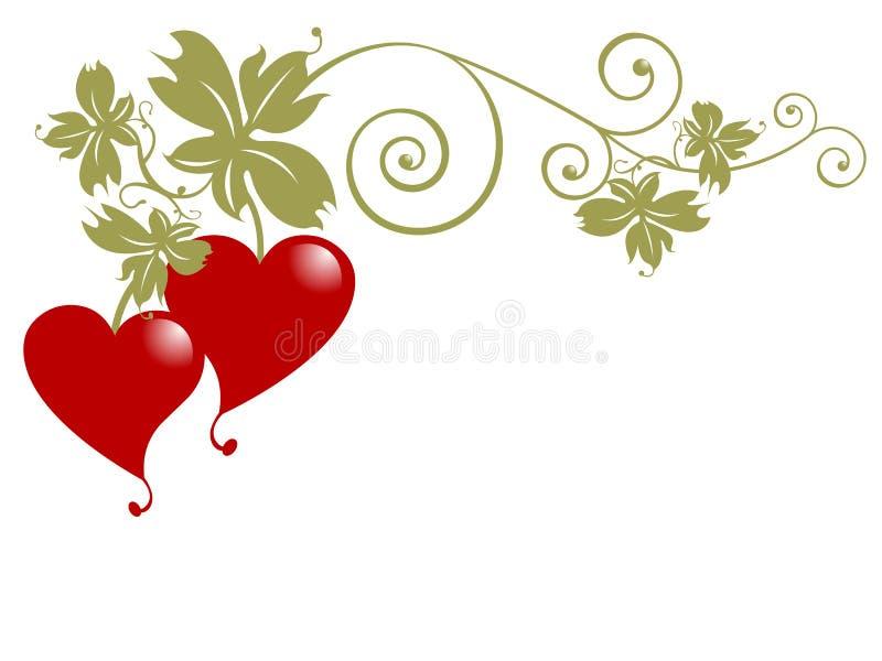 Fruta do amor ilustração royalty free