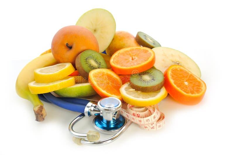 Fruta do doutor imagem de stock royalty free